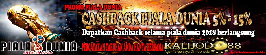 Promo CashBack Piala Dunia 2018