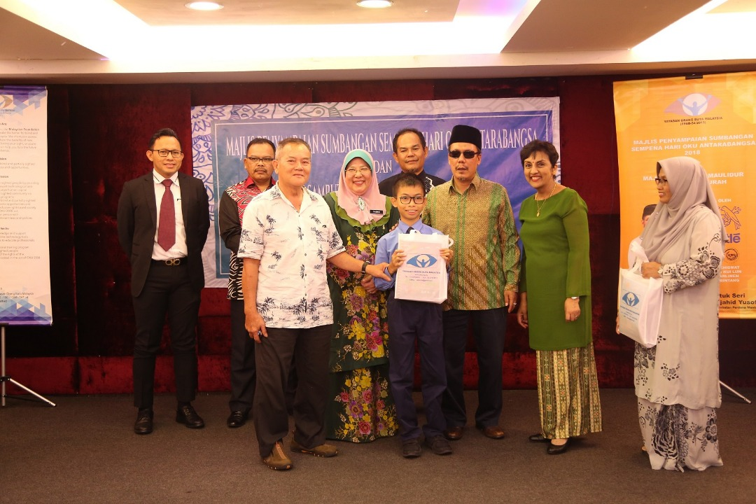 Nestlé Supports Braille Literacy  Contributes RM45,000 to Blind Community