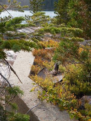 Mining remnants near No Man Lake