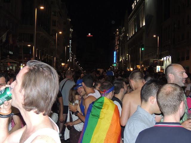 Hoy terminan las fiestas del orgullo gay de Madrid
