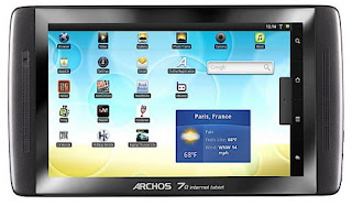 5 new Archos Android-based tablets announced b