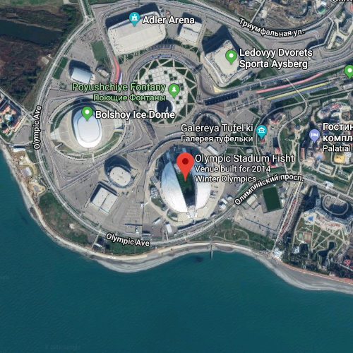 Fisht Olympic Stadium, Krasnodar Krai, Rusia | Piala Dunia FIFA 2018