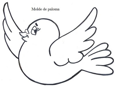 Paloma Blanca Para Colorear Imagenes De Palomas