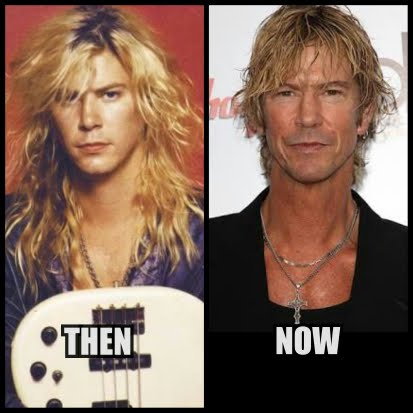 Duff McKagan then now