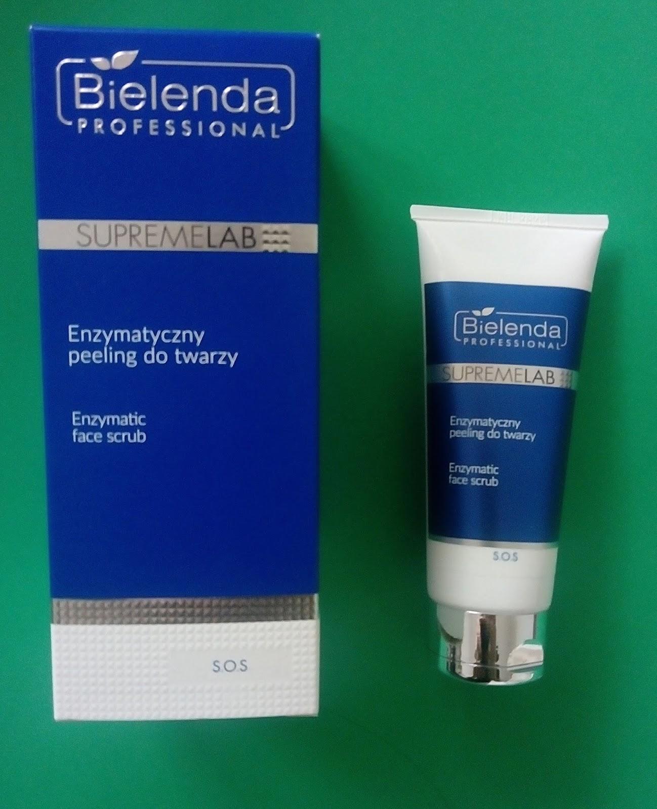 Bielenda professional supremelab enzymatyczny peeling do twarzy