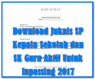 Juknis Inpassing SP kepala sekolah & SK PTK Aktif