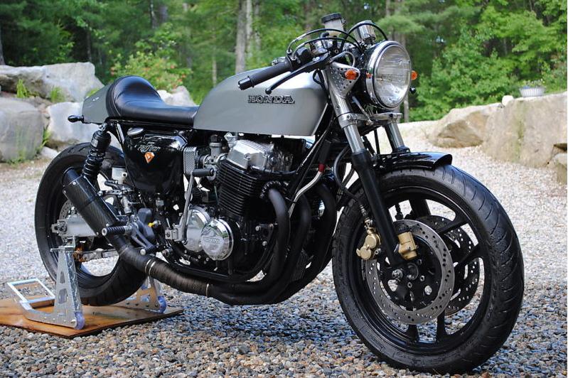 cling on for dear life !!!: new cb750 café racer on ebay