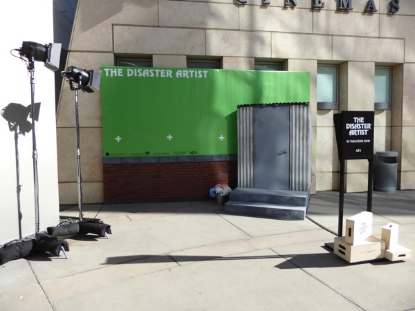Disaster Artist photo opportunity ArcLight Hollywood