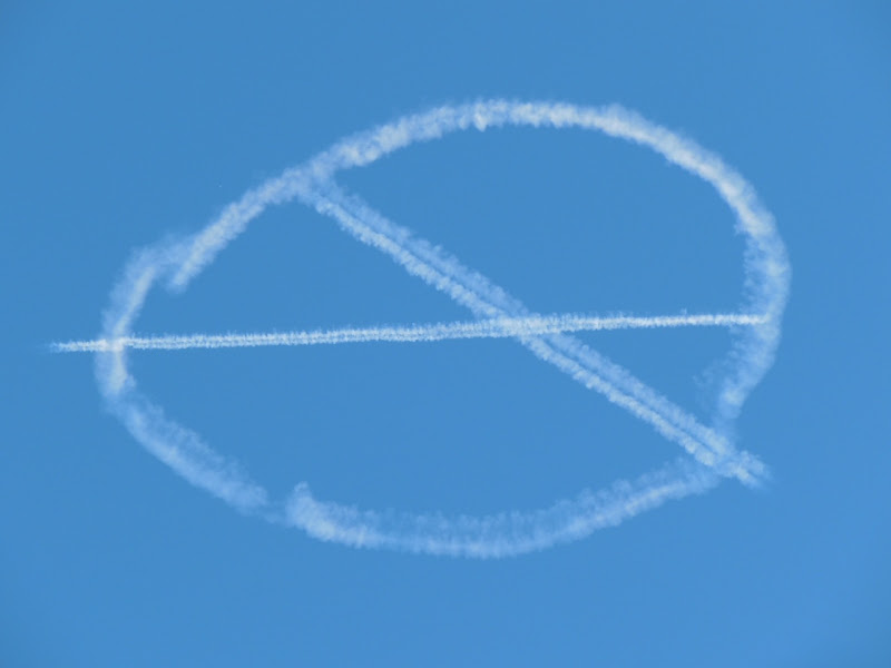 X-Men First class sky writing publicity LA