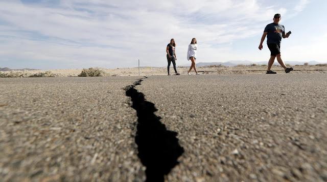Явления природы. Землетрясение.