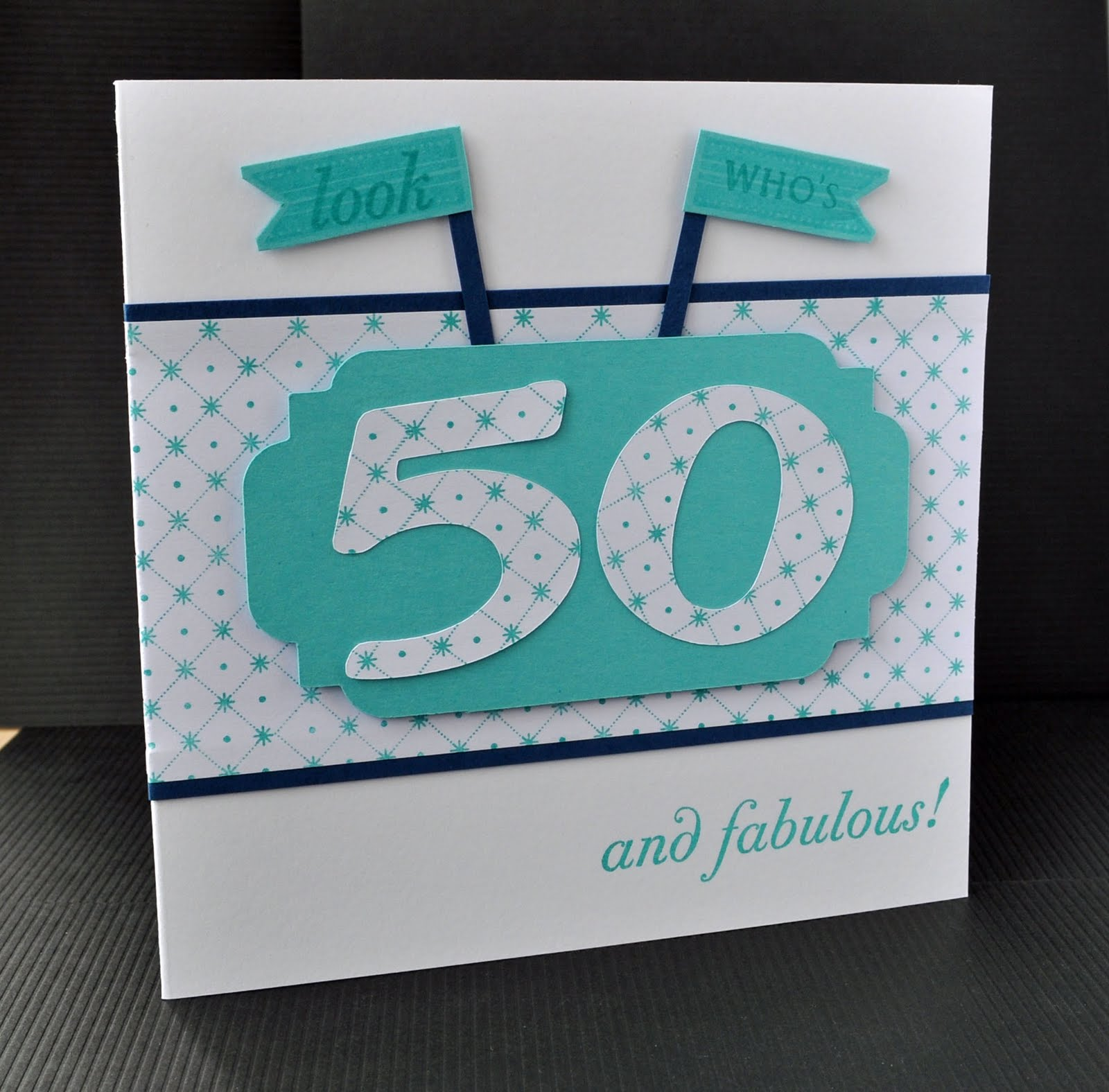 50th Birthday Cards Cricut: Inky Fingers: Cricut / Papertrey Ink Birthday Card And Ducks