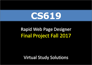 Rapid Web Page Designer - CS619 Final Project Fall 2017