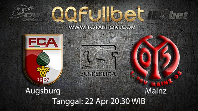 BOLA88 - PREDIKSI TARUHAN BOLA AUGSBURG VS MAINZ 22 APRIL 2018 ( GERMAN BUNDESLIGA )