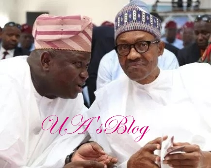"""Learn from Ambode, who despite his loss didn't abandon APC for another party"" — Buhari to other politicians"