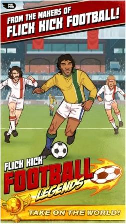 Game Bola Android Offline Flick Kick Football MOD APK