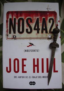 Portada del libro NOS4A2, de Joe Hill