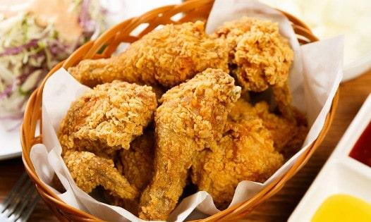 دجاج كنتاكي،طريقة عمل دجاج كنتاكي في المنزل ، دجاج كنتاكي في المنزل