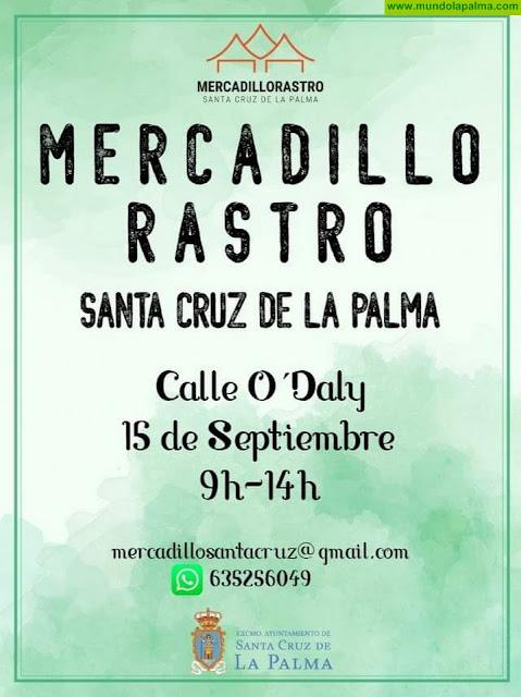 Mercadillo-rastro en Santa Cruz de La Palma