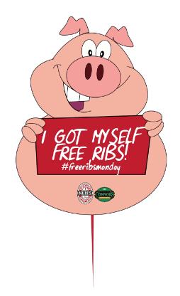 Naughty Nuri's Kuala Lumpur: Free Ribs Monday from 23 May ...