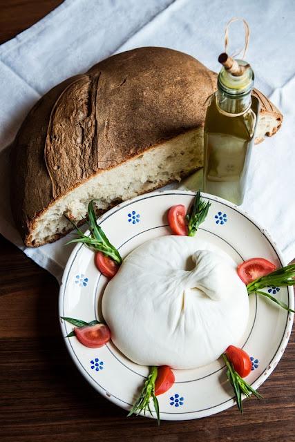Burrata from Gravina, Puglia