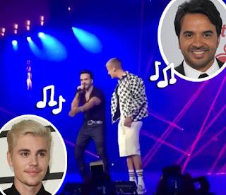 """Dicen que Justin Bieber """"Despacito"""" despreció al intérprete Luis Fonsi"""