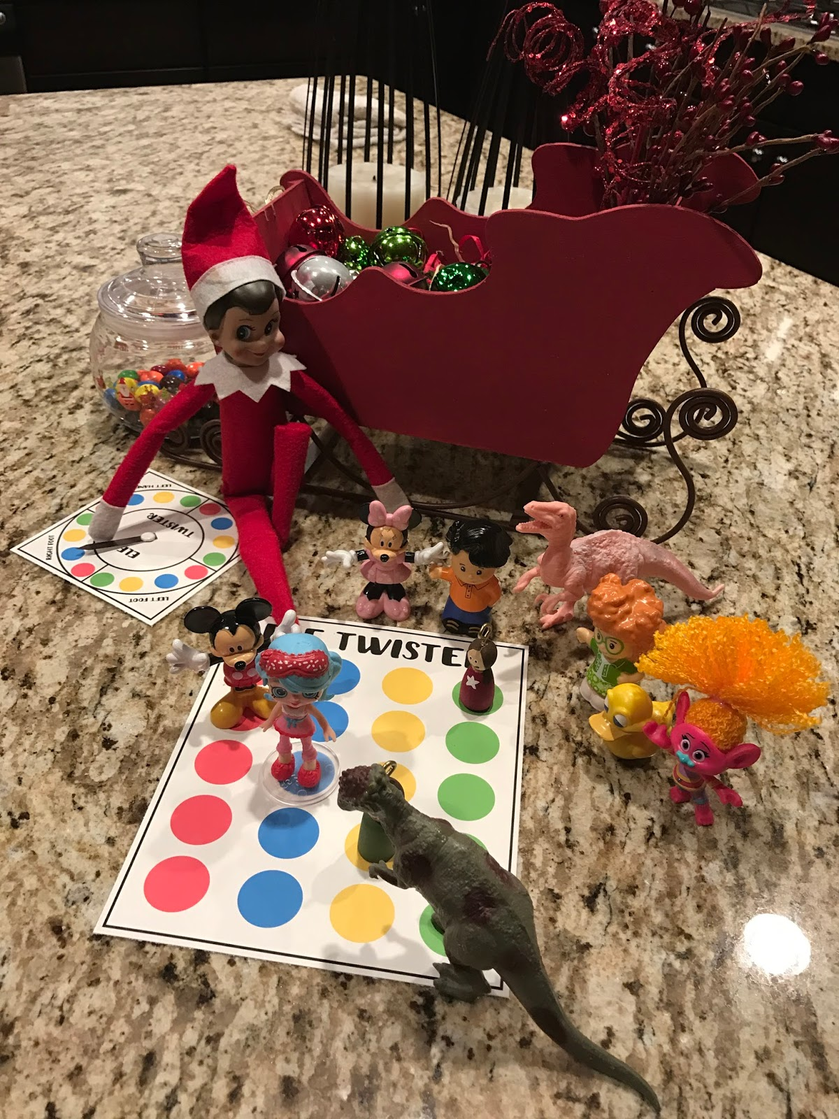 photo about Twister Spinner Printable identify Elf Twister - Dwelling a Mommy Lifetime