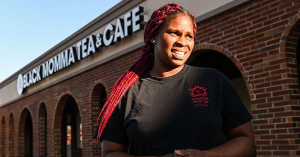 Vanessa Braxton, founder of Black Momma Tea & Cafe