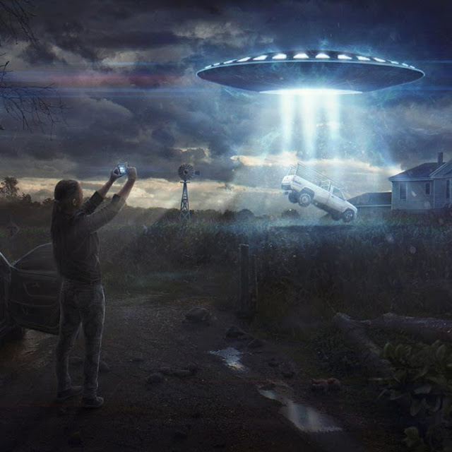UFO Wallpaper Engine