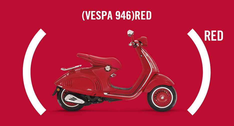 Penampakan Vespa 946 Red Yang Dibandrol Dengan Harga 199 Juta Rupiah