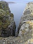 Klippen am Nordkap, cliffs, acantilados