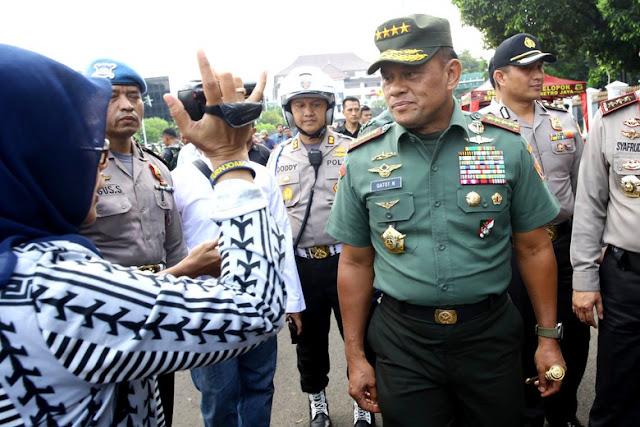 Panglima TNI: Lebih Baik Jadi Tumbal Menjaga NKRI ketimbang Jadi Presiden