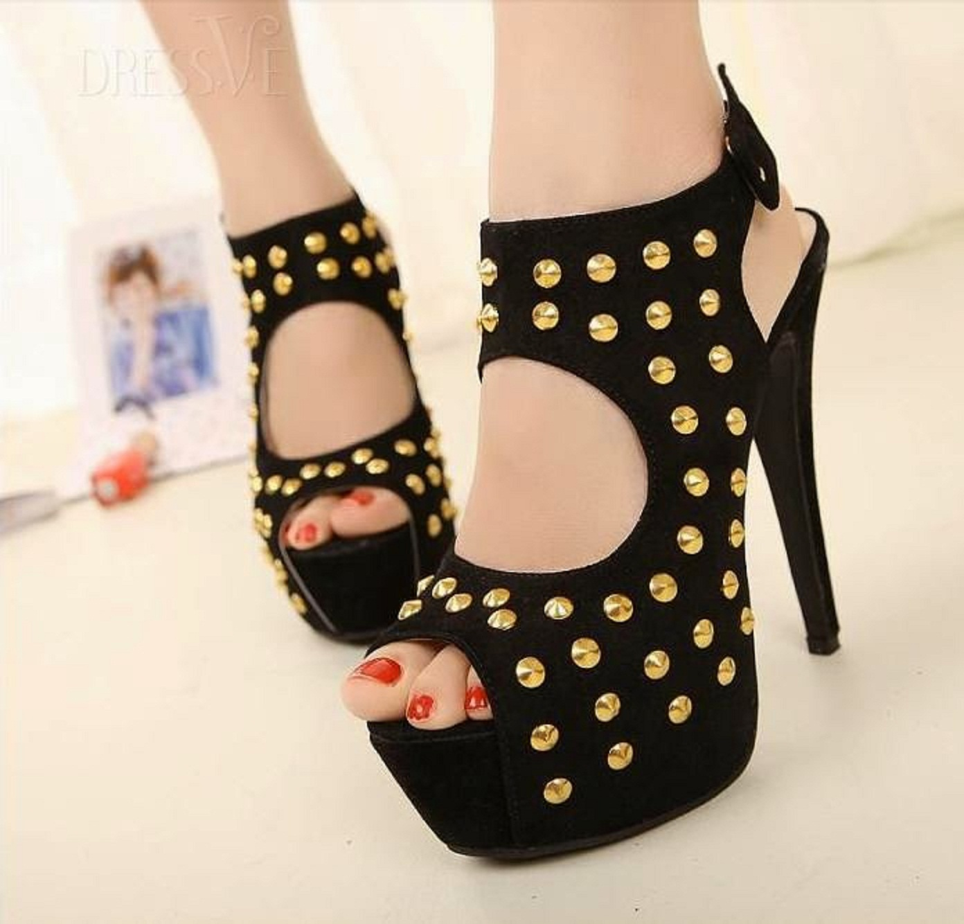 Latest Design Women Wedge Shoes High Heel Shoes Images HD ...