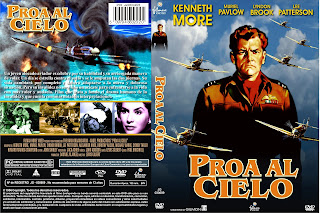 Carátula: Proa al cielo (1956) Reach for the Sky