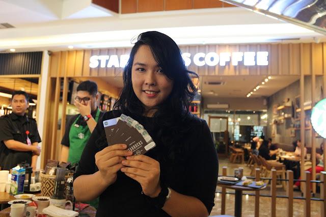 Meilinda, Manager Starbuck Pontianak