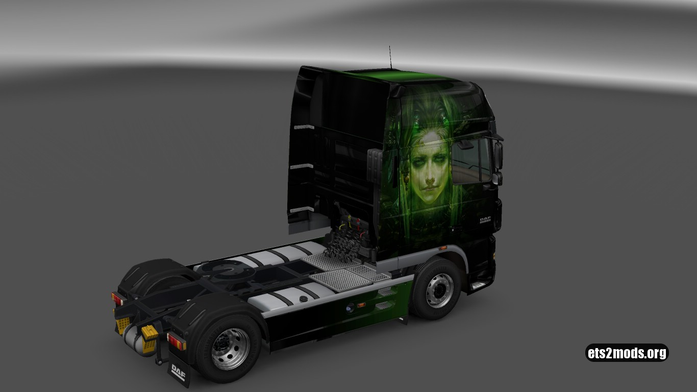 Cyberpunks Skin for DAF XF