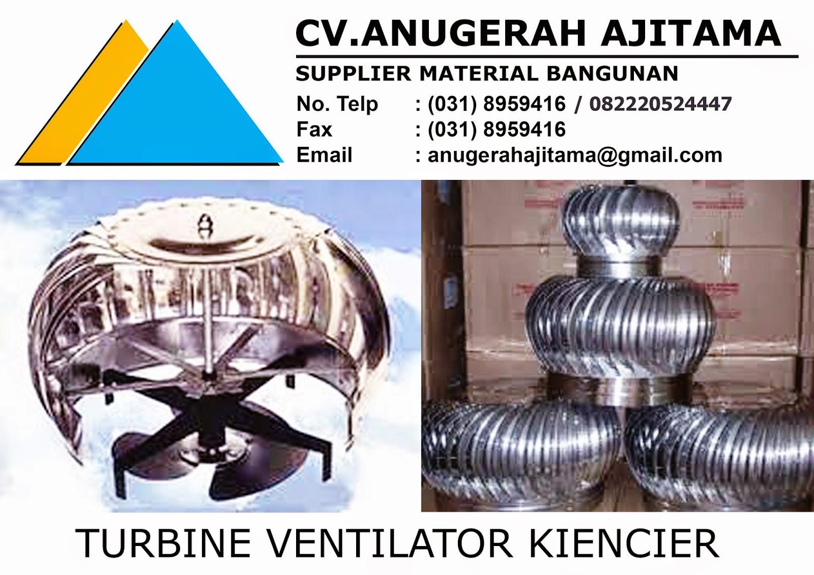 Jual Turbin Ventilator Kiencier Surabaya
