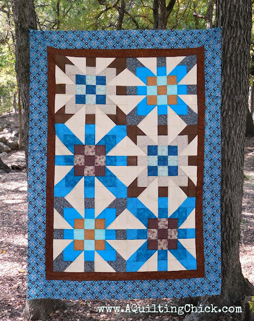 A Quilting Chick - Supernova Quilt