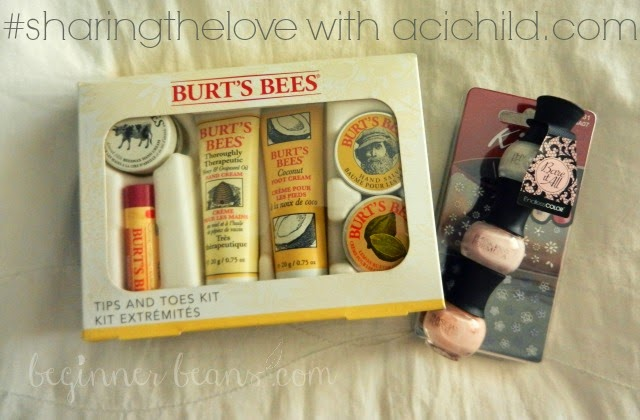 Summer Pedicure Giveaway | #sharingthelove with acichild.com