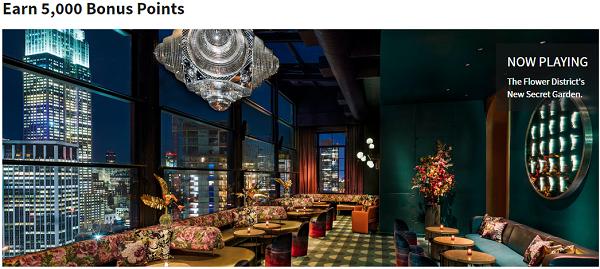 入住Marriott萬豪紐約切爾西MOXY酒店(Moxy NYC Chelsea)可額外贏取5000獎勵積分!(12/31前)