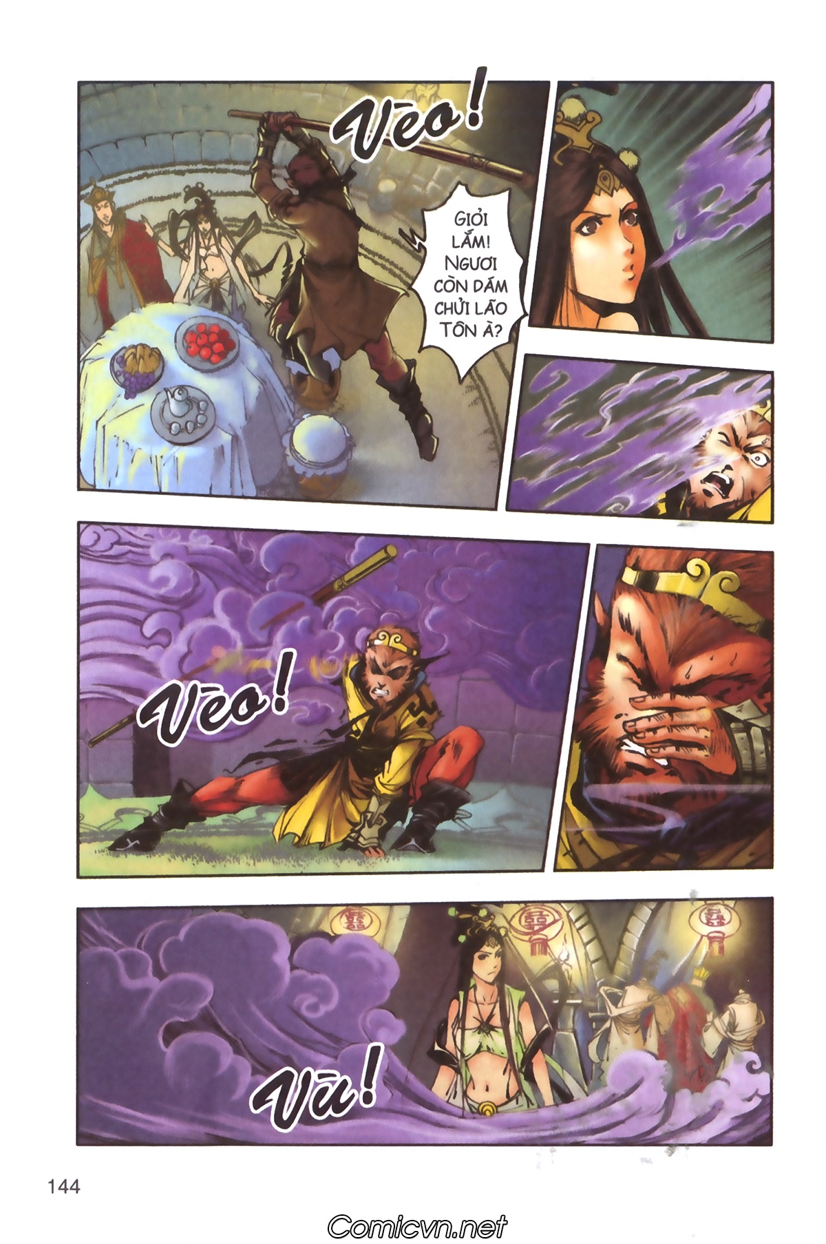 Tây Du Ký màu - Chapter 100 - Pic 3