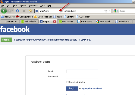 facebook account hacking with fake login page | facebook hacking