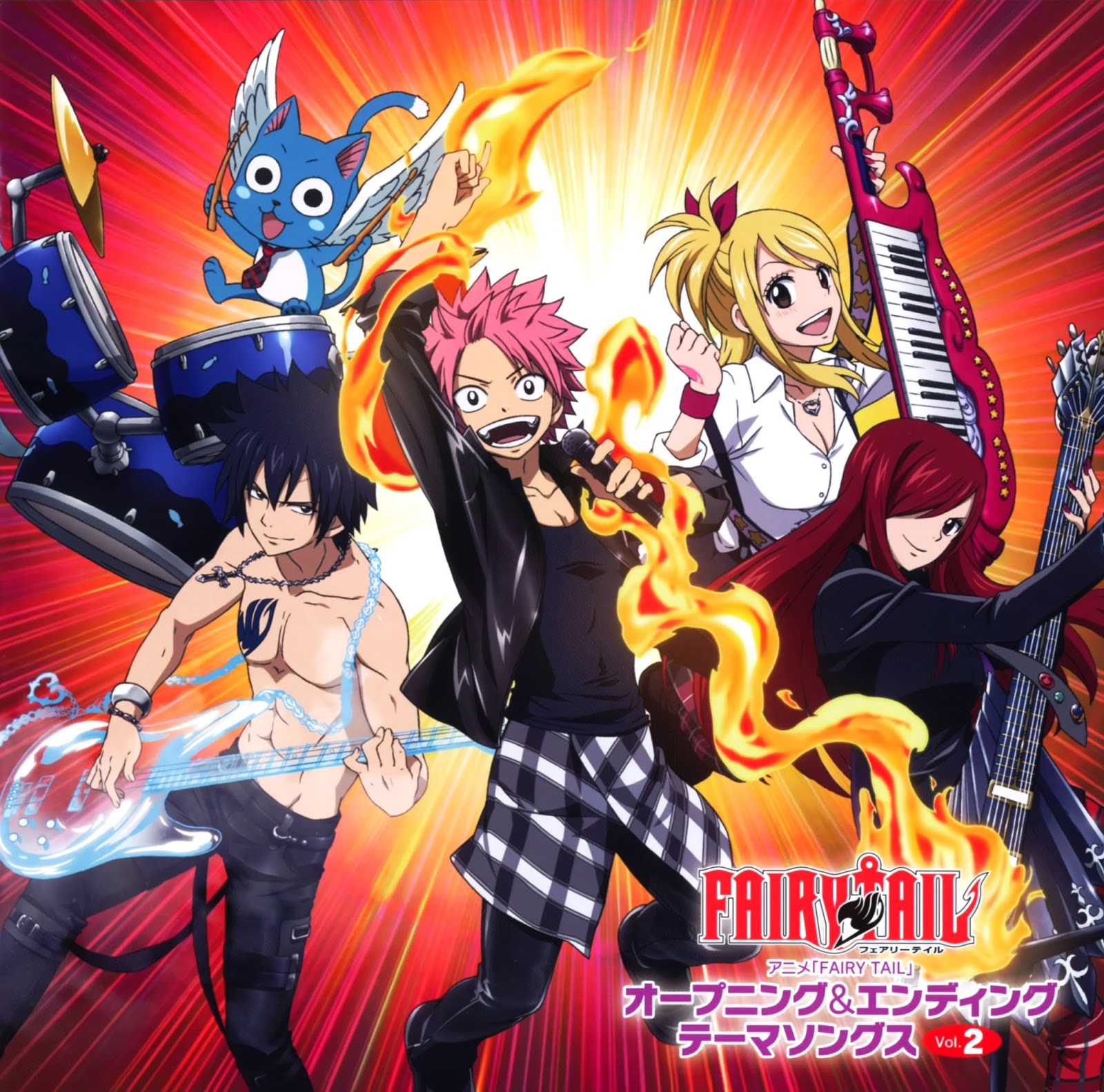Opening Song Indonesian Vers Cover By: YUME J-MUSIC DISCOGRAPHY: FAIRY TAIL Opening & Ending