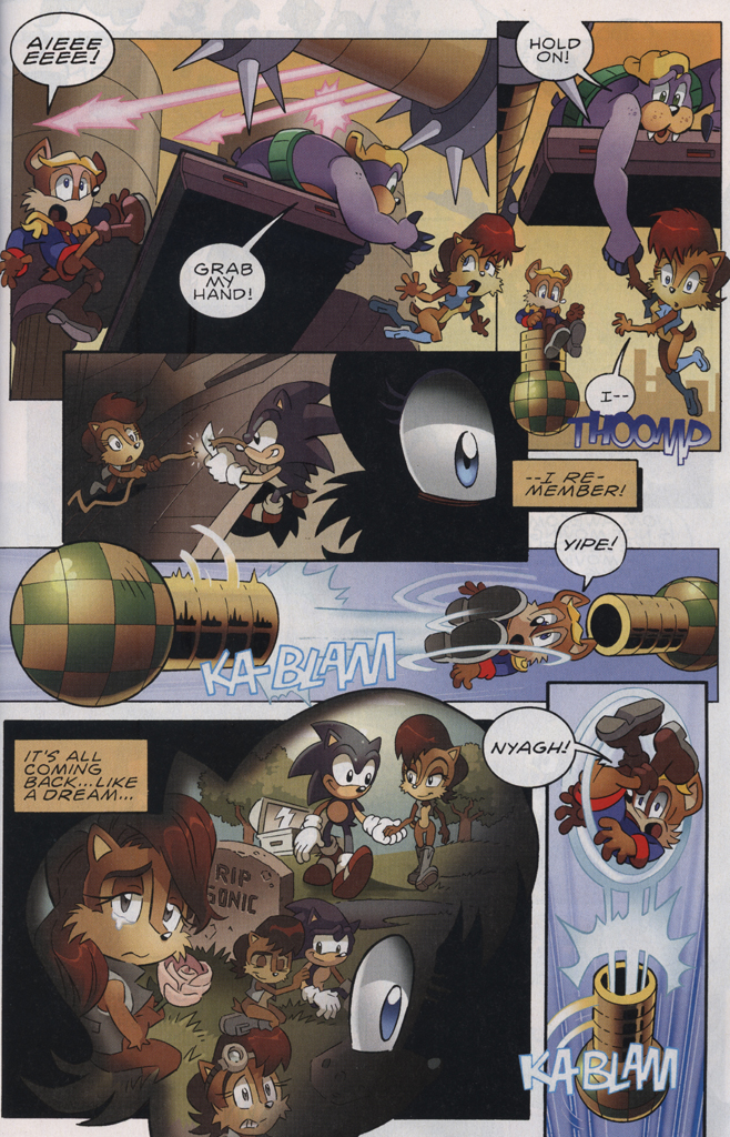 Read online Sonic The Hedgehog comic -  Issue #229 - 9