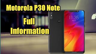 Motorola P30 Note
