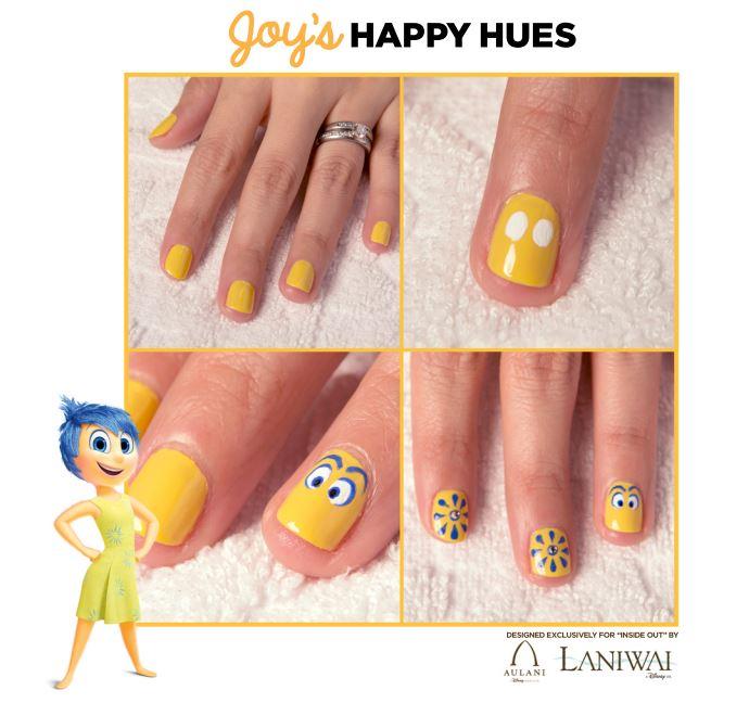DIY Joy´s Happy Hues Nails.   Oh My Nails!