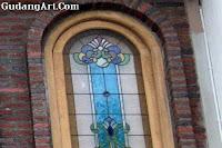 kaca patri - jendela kaca patri