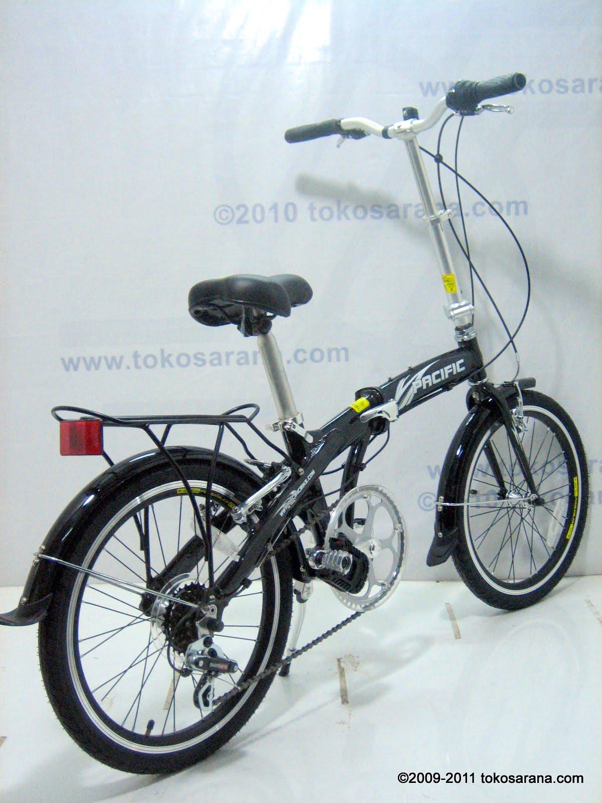 BINTANG HARAPAN: Sepeda Lipat Pacific Alloy Frame 20 Inci