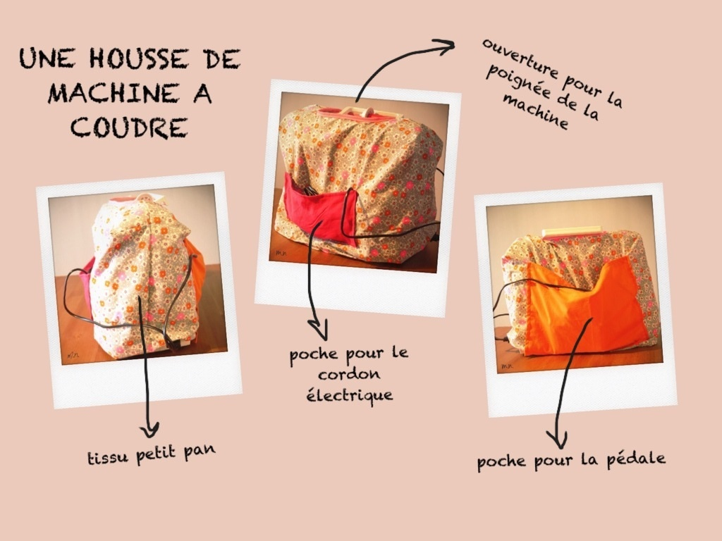 diy housse machine a coudre. Black Bedroom Furniture Sets. Home Design Ideas