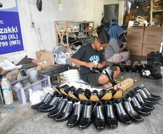 jasa pembuatan sepatu
