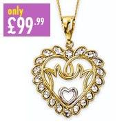 9ct Gold Mum Chain